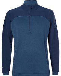 adidas Originals - Go-to Adapt Shell And Jersey Half-zip Sweatshirt - Lyst