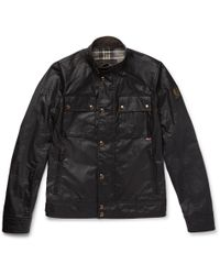 Belstaff - Racemaster Waxed-cotton Jacket - Lyst