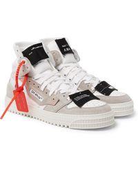 158d396d6277c6 Lyst - Off-White c/o Virgil Abloh Low 3.0 Sneaker in White for Men