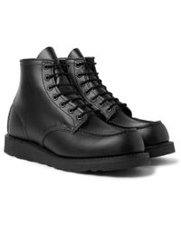 Red Wing - 8137 Moc Leather Boots - Lyst