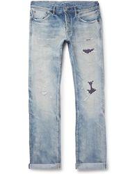 Fabric-Brand & Co.   Distressed Selvedge Denim Jeans   Lyst