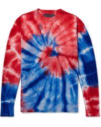 The Elder Statesman - Tie-dyed Cashmere Sweater - Lyst