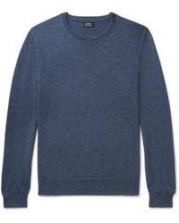 J.Crew - Mélange Cashmere Sweater - Lyst