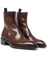Berluti - Venezia Leather Chelsea Boots - Lyst