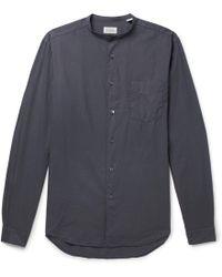 Hartford - Premium Pat Grandad-collar Cotton Shirt - Lyst