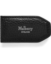 Mulberry - Leather Money Clip - Lyst