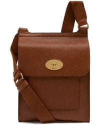 Mulberry - New Antony In Oak Natural Grain Leather - Lyst