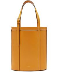 Mulberry - Small Wilton Tote In Deep Amber Silky Calf - Lyst