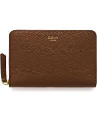 Mulberry - Medium Zip Around Wallet - Lyst