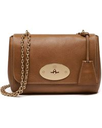 590dbb5d6f Mulberry - Lily Medium Natural Leather Crossbody - Lyst