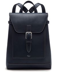 9af664adb3 Mulberry - Chiltern Backpack In Midnight Silky Calf - Lyst