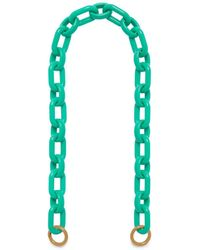 Mulberry - Acetate Strap In Persian Green Acetate - Lyst