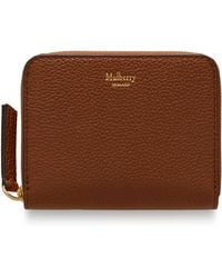Mulberry - Small Zip Around Purse - Lyst