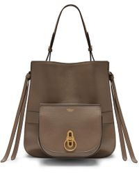 Mulberry Seaton In Clay Small Classic Grain in Brown - Lyst f9d674977d0cd