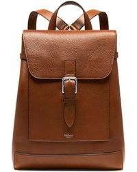 Mulberry - Chiltern Backpack In Oak Natural Grain Leather - Lyst