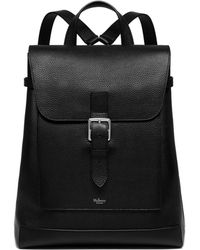 Mulberry - Chiltern Backpack In Black Natural Grain Leather - Lyst