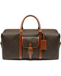 Mulberry - Large Heritage Weekender - Lyst