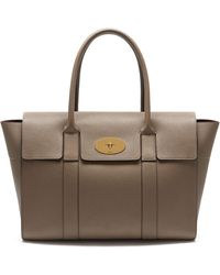 Mulberry - New Bayswater Leather Bag - Lyst