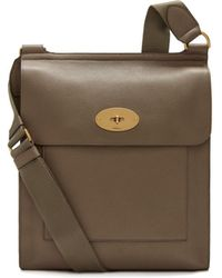 Mulberry - New Antony Messenger In Clay Small Classic Grain - Lyst