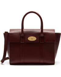 Mulberry - Small New Bayswater Leather Bag - Lyst