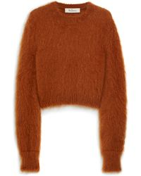 Mulberry - Melody Jumper In Rust Mohair - Lyst