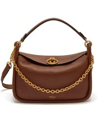 Mulberry Small Leighton in Brown - Lyst 6ee687f3d0be8