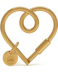 Mulberry | Looped Heart Keyring | Lyst