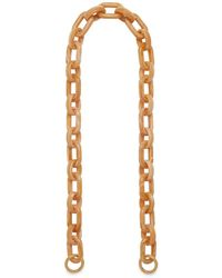 Mulberry - Acetate Strap In Red Ochre Acetate - Lyst