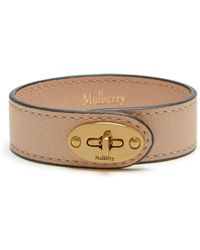 Mulberry | Bayswater Leather Bracelet | Lyst