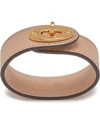 Mulberry - Bayswater Leather Bracelet - Lyst