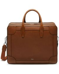 Mulberry - Belgrave 24hour Bag In Oak Natural Grain Leather - Lyst