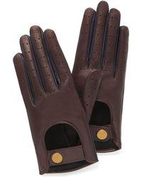 Mulberry - Biker Gloves - Lyst