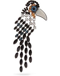Mulberry - Bird Brooch - Lyst