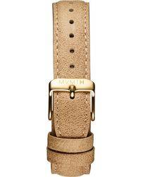 MVMT - Womens - 18mm Beige Leather - Lyst