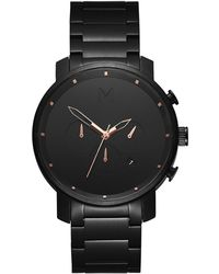 MVMT - Chrono Black Rose - Lyst