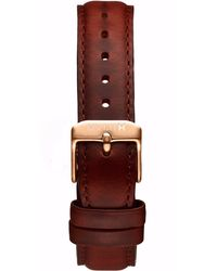 MVMT - Boulevard - 18mm Natural Leather - Lyst