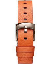 MVMT - Bloom - 16mm Orange Leather - Lyst