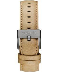 MVMT - 40 Series - 20mm Sandstone Leather - Lyst