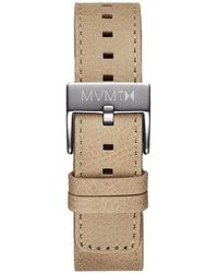 MVMT - Chrono - 20mm Sandstone Leather - Lyst