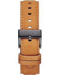MVMT - 40 Series - 20mm Tan Leather - Lyst
