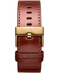 MVMT - Classic - 24mm Natural Leather - Lyst