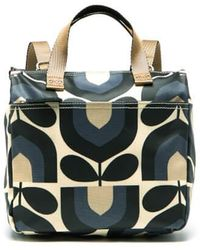 Orla Kiely - Matt Laminated Stripe Tulip Print Small Backpack - Lyst