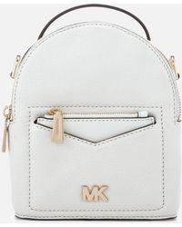 01e2eea42b26c5 MICHAEL Michael Kors - Jessa Extra Small Convertible Backpack - Lyst