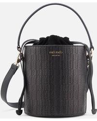 meli melo - Santina Mini Woven Bag - Lyst