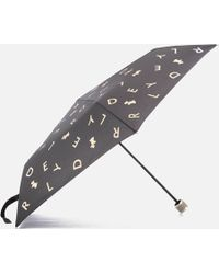 Radley - All That Glitters Mini Telescopic Umbrella - Lyst