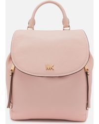 00f4bf2f7ff0 Michael Kors Michael Evie Small Flower Garden Backpack in Blue - Lyst