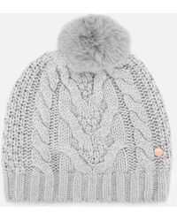 Ted Baker Quirsa Cable Knit Pom Hat