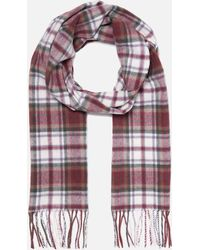 Barbour - Shilhope Check Scarf - Lyst