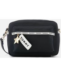 Tommy Hilfiger - Logo Tape Crossover Bag - Lyst