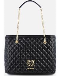 Love Moschino - Quilted Shopper Bag - Lyst